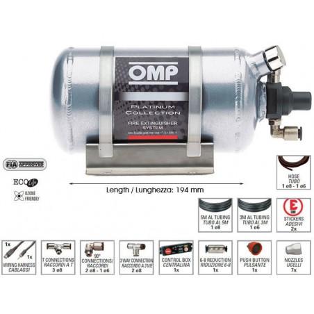 System gaśniczy OMP Platinum Collection (CEFAL3)