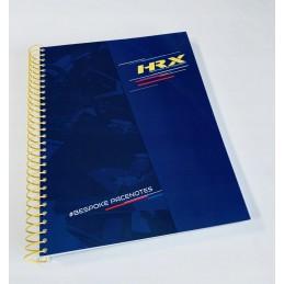 Zeszyt / notes pilota HRX