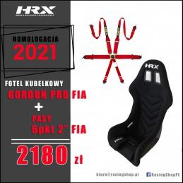 Fotel kubełkowy HRX Gordon...