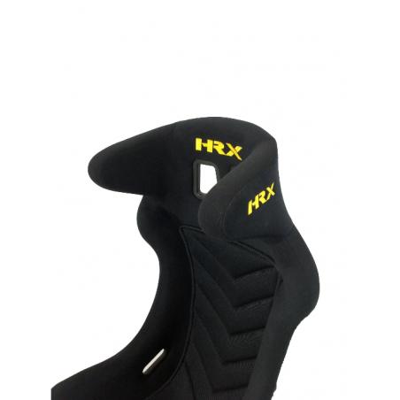 """Zestaw - 2x Fotel kubełkowy HRX Racer XL + 2x Sześciopunktowe pasy HRX HANS FIA 2"""" (2021-2025)"""